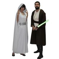 Princesa Leia e Luke Skywalker